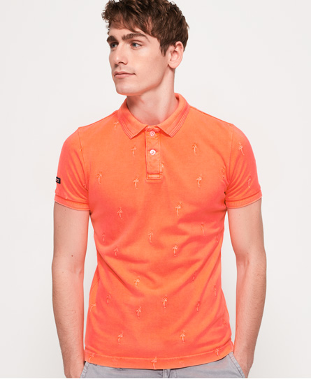 Superdry Washed Polo Coral Coral Superdry Polo Polo Superdry Washed Washed 6pXq46